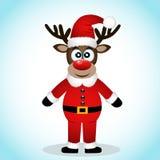 Grußkarte der frohen Weihnachten Lizenzfreie Stockfotos