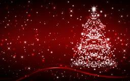 Grußkarte der frohen Weihnachten und des guten Rutsch ins Neue Jahr mit Kopieraum lizenzfreie abbildung