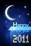 Grußkarte des glücklichen neuen Jahres vektor abbildung
