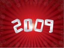 Grußkarte des neuen Jahres Stockfotos