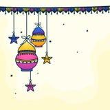 Grußkarte für Ramadan-Feier Lizenzfreie Stockbilder