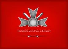 Grußkarte mit deutscher Medaille Lizenzfreie Stockbilder