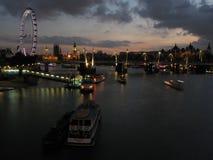 Grußkarte von London Lizenzfreie Stockbilder