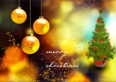 Grußkarte von Weihnachten lizenzfreies stockbild
