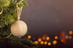 Grußkarte Weihnachtsdekorationskalender Lizenzfreies Stockbild