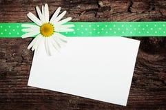 Grußpostkarte Lizenzfreie Stockbilder