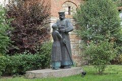 Gruß des Bruder-Befreier Monuments in Varna, Bulgarien stockfotos