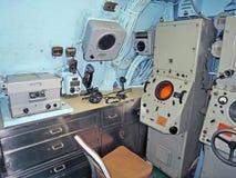 Gruñidor de USS: Timón imágenes de archivo libres de regalías