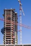 Gru & costruzione Immagini Stock Libere da Diritti