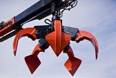 Gru a benna resistente del cuoio capelluto Fotografia Stock Libera da Diritti