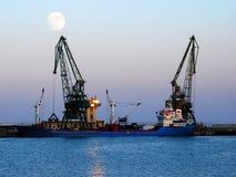 Gru del cantiere navale immagini stock libere da diritti