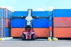 Gru del container Immagini Stock Libere da Diritti