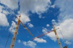 Gru della costruzione Fotografie Stock