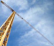 Gru della costruzione Fotografie Stock Libere da Diritti