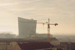 gru della costruzione moderna Immagine Stock