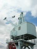 Gru di cantiere navale Fotografie Stock