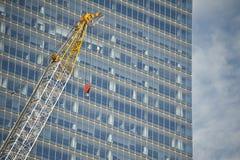 Gru di Contruction Fotografia Stock Libera da Diritti