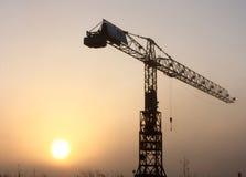 Gru di costruzione Fotografia Stock Libera da Diritti