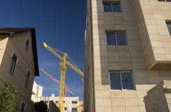 Gru di costruzione. Immagini Stock