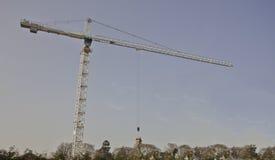 Gru di costruzione Immagini Stock Libere da Diritti