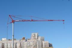 Gru di costruzione Fotografie Stock Libere da Diritti