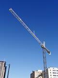 Gru di costruzione. Fotografie Stock