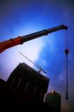 Gru di costruzione Immagini Stock