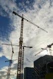 Gru di costruzione alte Immagine Stock Libera da Diritti