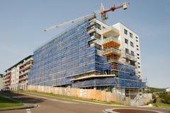 Gru di costruzione funzionante Aggiornamento 196 Gosford Marzo 2019 immagini stock libere da diritti
