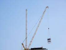 Gru di costruzione industriale Immagini Stock