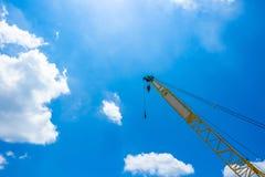 Gru di costruzione mobile fotografia stock libera da diritti