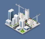 Gru di costruzione pesante royalty illustrazione gratis
