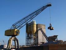 Gru industriale Fotografia Stock