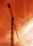 Gru a torre Immagini Stock