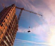 Gru a torre Fotografia Stock Libera da Diritti
