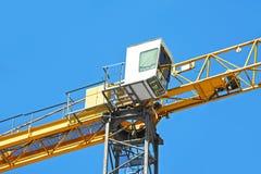 Gru a torre della costruzione Immagini Stock