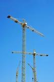 Gru a torre della costruzione Immagine Stock Libera da Diritti