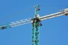 Gru a torre della costruzione Fotografia Stock