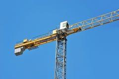 Gru a torre della costruzione Immagini Stock Libere da Diritti