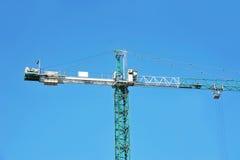 Gru a torre della costruzione Fotografie Stock Libere da Diritti