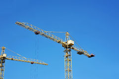 Gru a torre della costruzione Fotografia Stock Libera da Diritti