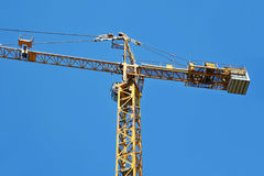Gru a torre della costruzione Fotografie Stock