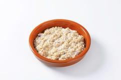 Gruau entier d'avoine de grain Photo libre de droits