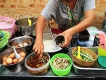 Gruau thaïlandais de riz Image libre de droits