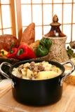 grubą zupy rybnej wołowiny ziemniak zdjęcie royalty free