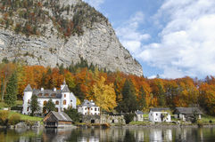 Grub Palace Hallstatt. Grub Palace on Hallstatter see Royalty Free Stock Photo