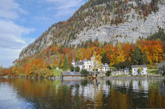 Grub Palace Hallstatt. Grub Palace on Hallstatter see Royalty Free Stock Images