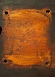 grubas dziurkujący półkowy drewniany Zdjęcia Royalty Free