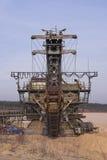 Grube von gravel1 Lizenzfreies Stockfoto