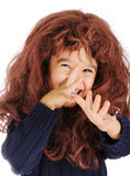 grubiański śmieszny dzieciak Zdjęcie Royalty Free